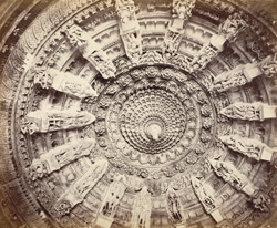 Ceiling of Jain Temple [Abu]